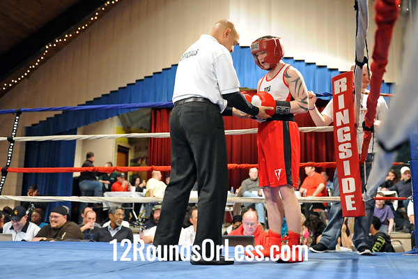 Bout 5 Dale Harrison, SSBC -vs- Dominic Rogers, Cleveland 153 lbs.