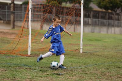 Andrew's Soccer Game 9/15/2012