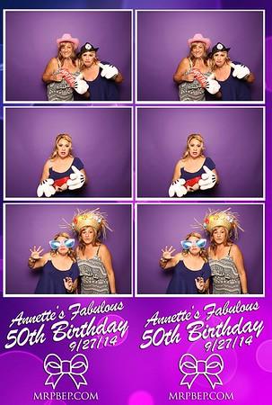 Annette'S 50th   Sep. 27th 2014