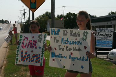 Memory Walk Car Wash Fundraiser 2011