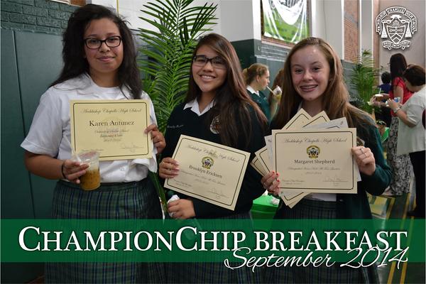 ChampionChip Breakfast 2014