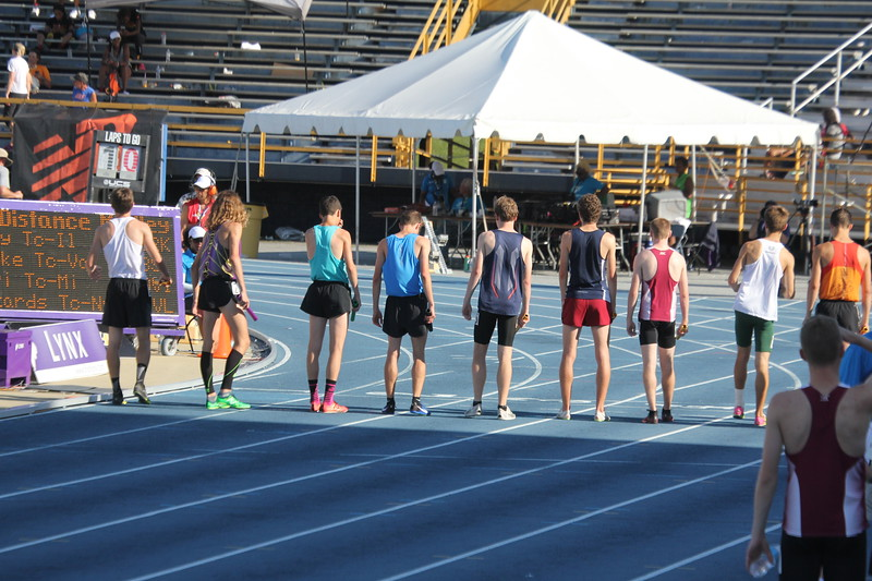 Waiting for the Bell.....boys distance medley