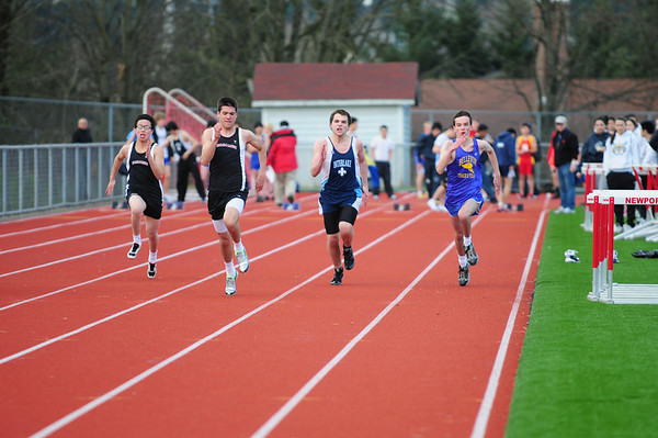 BHS TRACK at Newport 3-17-11