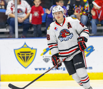12-21-16 IceHogs vs. Wolves