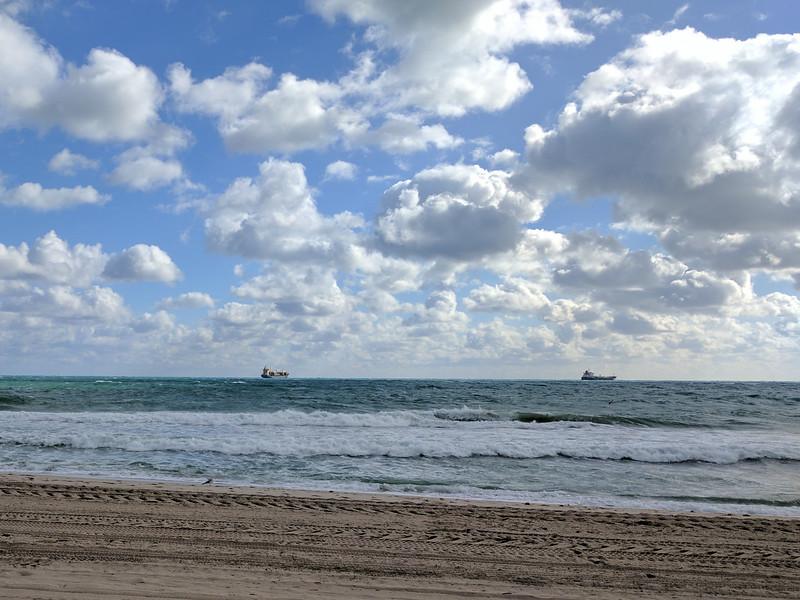 Monday, January 9 - Another morning beach walk
