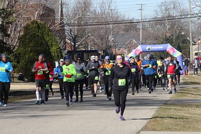 Wave 4 Start - 2021 Bill Roney Memorial 5K Run
