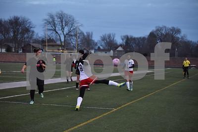 DM East @ Fort Dodge Girls Soccer 4/5/18
