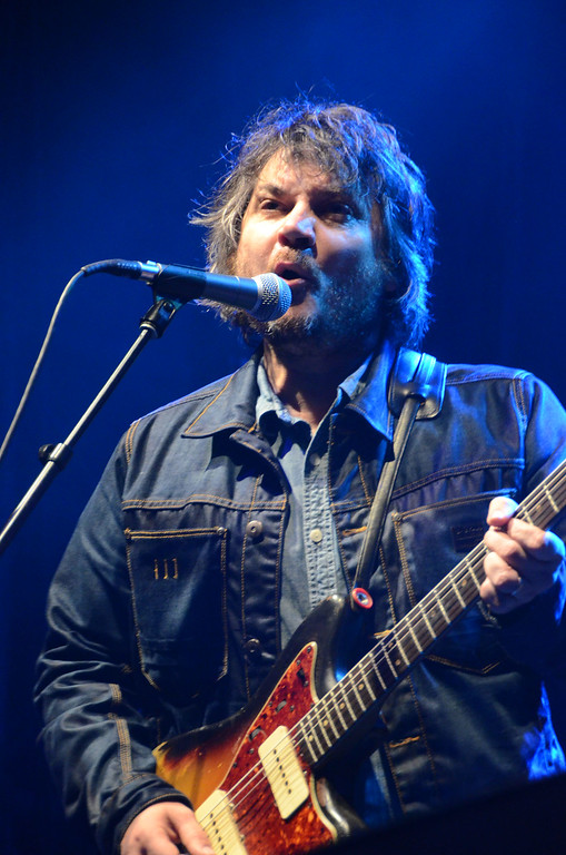 . Gillian Jones/North Adams Transcript  Jeff Tweedy of Wilco performs all requests Friday night on the opening night of Solid Sound weekend at Mass MoCA.