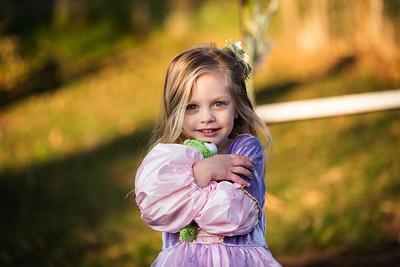 Paisley as Rapunzel