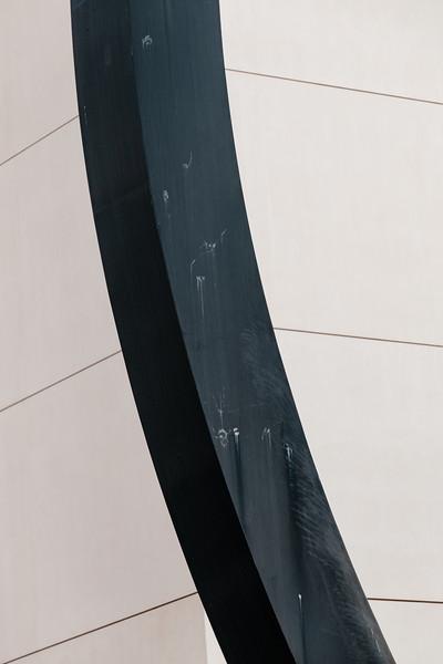 Detail of a sculpture