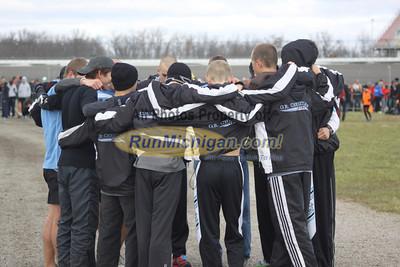 Start, D2 Boys - 2012 MHSAA LP XC Finals