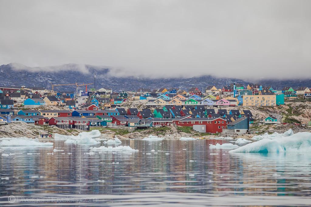 Ilullisat Village Greenland
