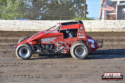 """6/14/18 Grandview Speedway """"Thunder on the Hill (USAC Sprints)"""""""