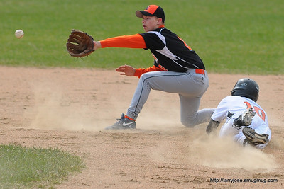 Jonesville vs Leslie Baseball