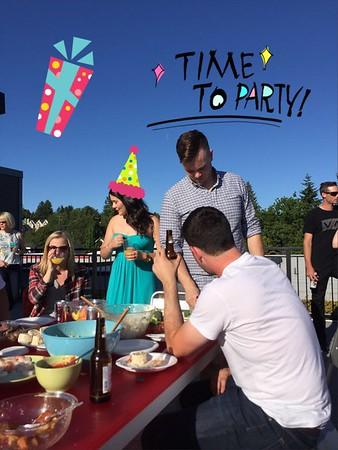 Tess and Jackson's Birthday BBQ