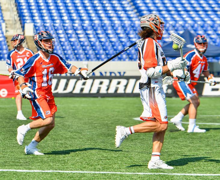 July 19, 2020 Annapolis, MD - Navy-Marine Corps Memorial Stadium Denver Outlaws vs Philadelphia Barrage. Photography Credit: Alex McIntyre