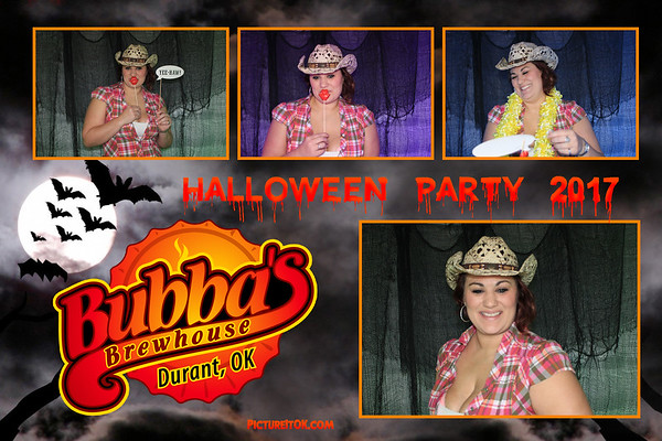 Bubba's Brewhouse Halloween Party Prints