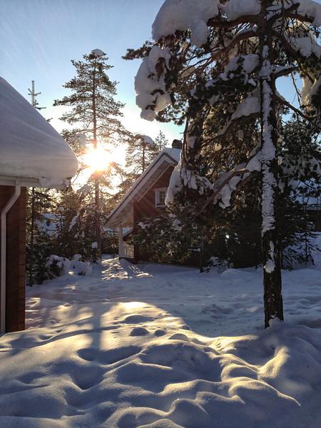 Late Afternoon Sun at Ounasvaara