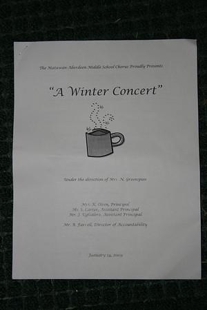 MAMS 2009 Winter Concert