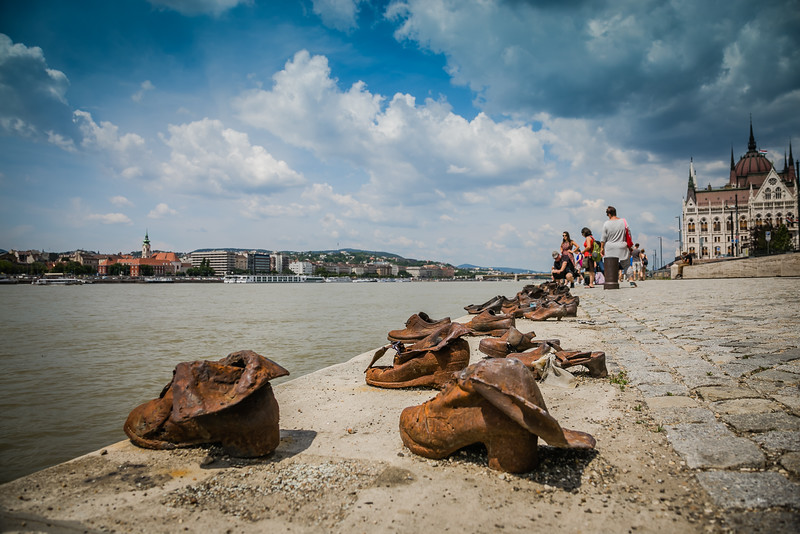 Jewish Shoe Memorial in Budapest