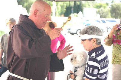 10-01-11 St. Francis Day Celebration/Pet Blessings