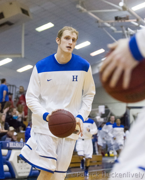 2013-02-02 Hillsdale College Men's Basketball vs. Findlay