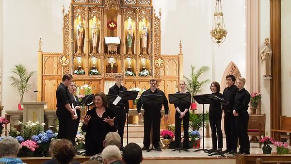 Voices of Concinnity/Choir Matrix  - April 2018