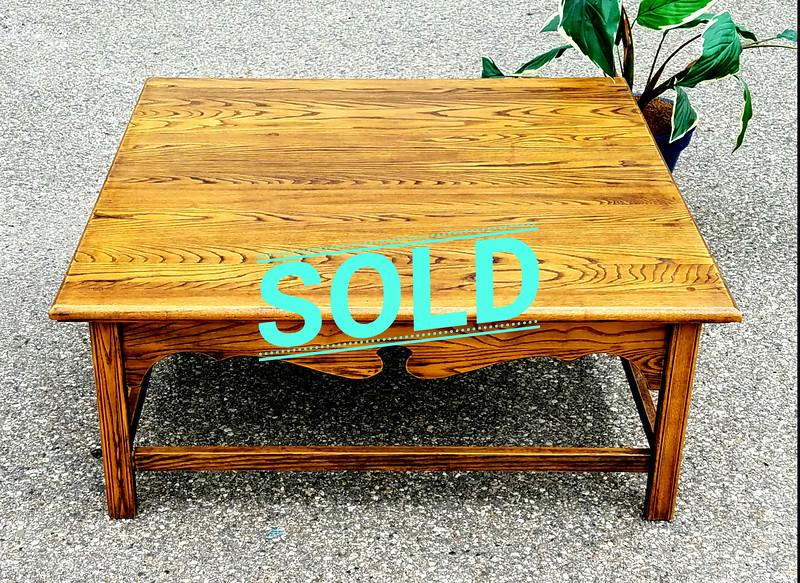 Amish Oak Coffee Table