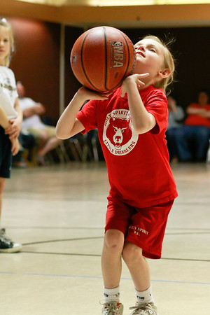 Little Dribblers Basketball 2/12/2011