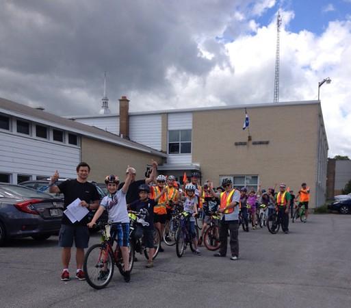 2016/06/15 Cycliste Averti / merci au bénévoles