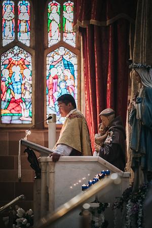 First Mass - Fr. Carlo Santa Teresa