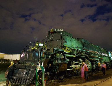 Big Boy #4014 on its epic journey from San Antonio to Houston, Texas