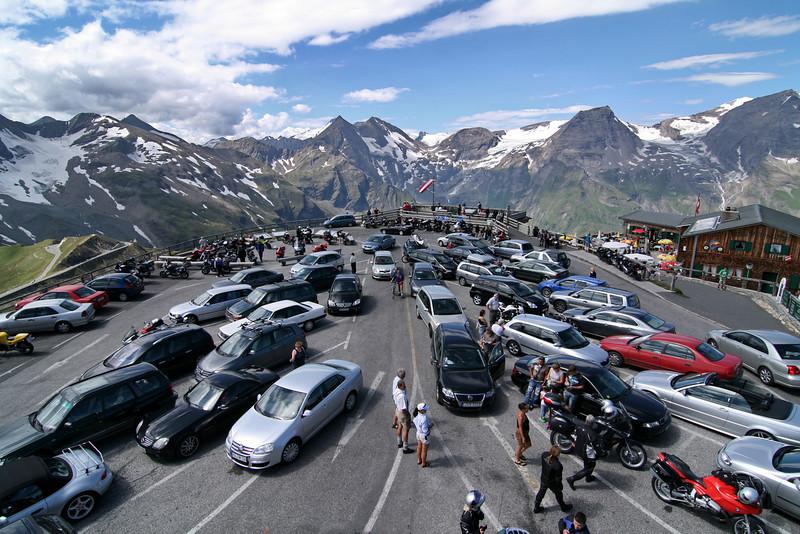 National Park Hohe Tauern. Grossglockner High Alpine Road