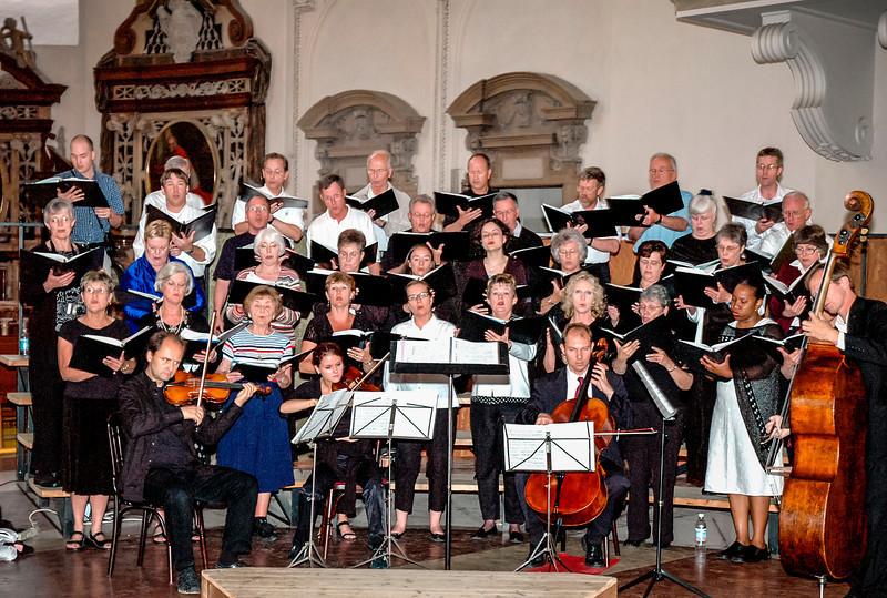 Music Mission Italy - Salzburg, Last Concert, Last Night, July 1