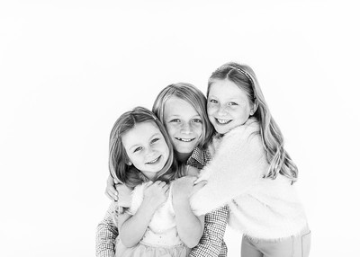 Holiday Card Studio Sibling Portraits -  2019