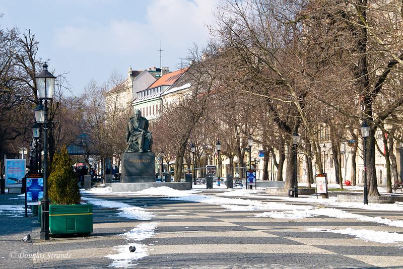 Bratislava pedestrian mall