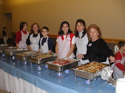 Community Life - Homeless Feeding - November 15, 2003