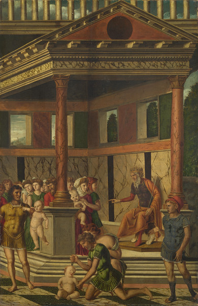 The Massacre of the Innocents with Herod
