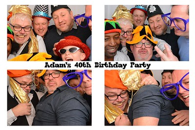 Adam's 40th Birthday