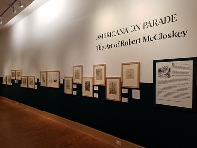2016 Americana On Parade: The Art of Robert McCloskey installation shots