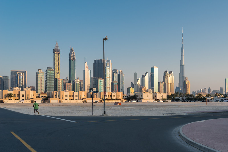 Running in Dubai, March 2015