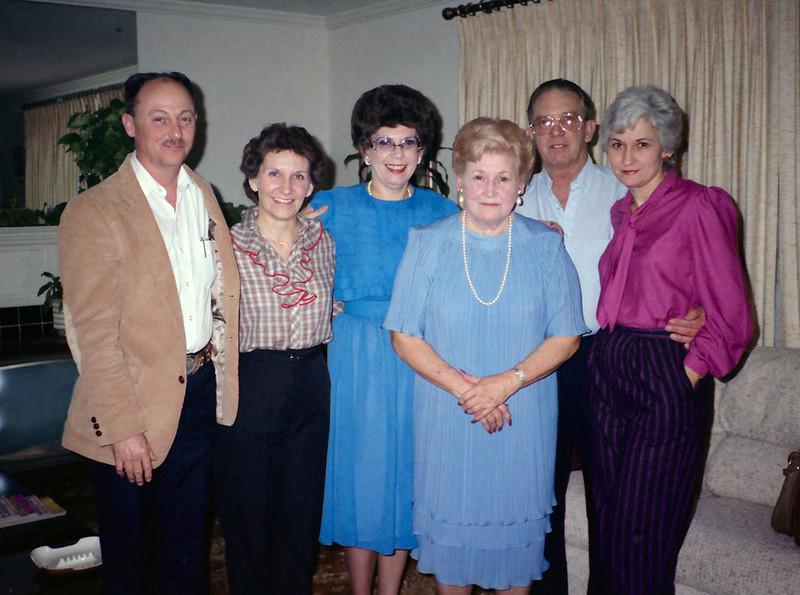 Ronald Ray (Ronnie) Howell, Brenda Graham, Darla Stone, Evelyn (Wasson) Howell, Reedie A Stone Jr, Patsy (Jones) Stone