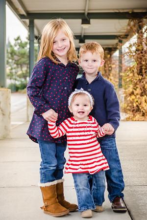 Justin, Kristina and kids