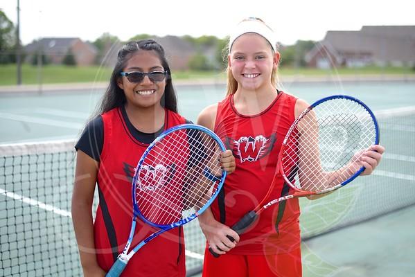 Ridge Girls Tennis vs. Princeton 9.12.16
