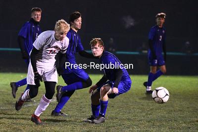 Boys Soccer — Peru vs. Saranac Championship