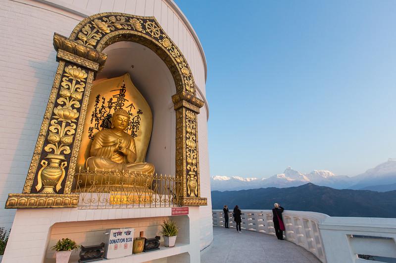 Buddha and Himalaya - Pokhara