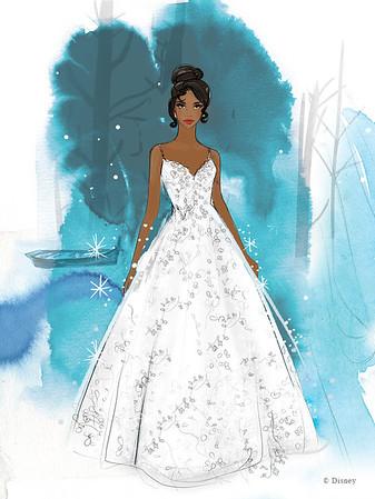 Allure Bridal - Disney Fairy Tale Weddings Collection
