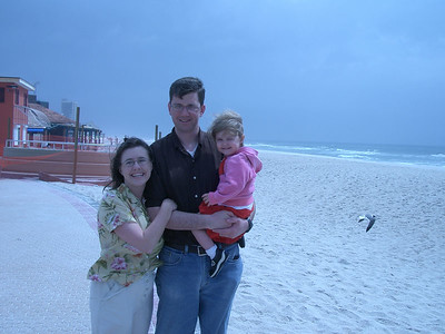 Florida Beach with Unc and Aunt - March 2005