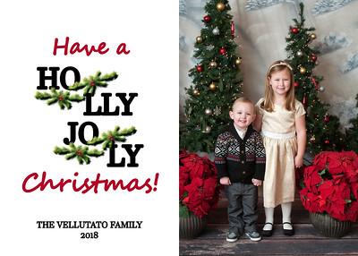 Christmas Card-Vellutato 2018