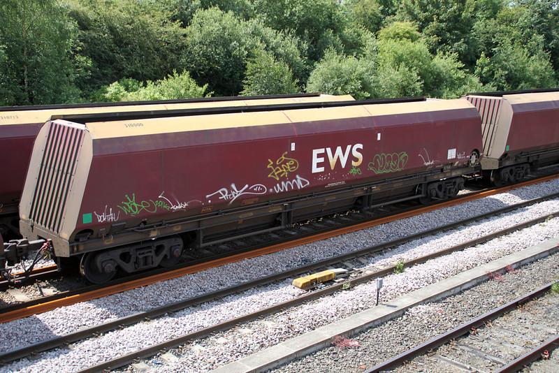 HAT 310000 passes Knottingley on 4N17 West Burton-Blyth 19/06/12